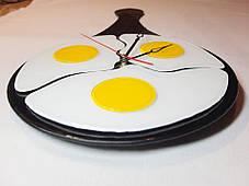 """Часы настенные """"Яишница"""", фото 2"""