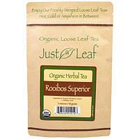 Just a Leaf Organic Tea, Loose Leaf, Herbal Tea, Rooibos Superior, 2 oz (56 g)