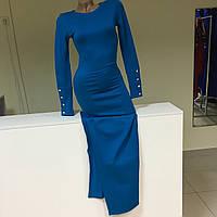 Длинное платье с разрезами р. S/44