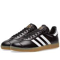 Оригинальные кроссовки Adidas Gazelle Core Black & White