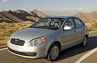 Абсорбер бампера задний SDN Hyundai Accent 2006-2010