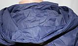 Куртка женская осенняя, с капюшоном, темно-синяя, фото 8