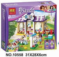 """Конструктор Bela Friends 10558 """"Детский сад для щенков"""" (аналог LEGO Friends 41124), 290 детали"""