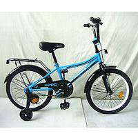 Велосипед 2-х колесный + 2 дополнительных колеса, Top Grade, 18 дюймов, PROFI