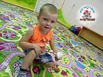 Ковролін в дитячих садах і клубах