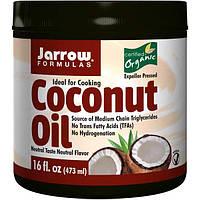 Jarrow Formulas, Органическое кокосовое масло, 16 унций (473 г)