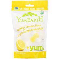 YumEarth, Organic Hard Candies, Cheeky Lemon, 3.3 oz (93.5 g)