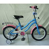 """Велосипед двухколесный для детей, PROFI, 14"""", прист.колеса"""
