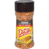 Mrs. Dash, Приправа для приготовления курицы-гриль, 2,4 унции (68 г)