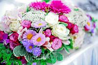 Свадебный букет, бутоньерка жениху, букет свидетелям, цветы на свадьбу
