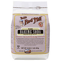 Bobs Red Mill, Bobs Red Mill, Чистая пищевая сода, без глютена, 16 унций (453 г)