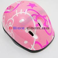Шлем детский Стандарт защитный Розовый Хелоу Китти