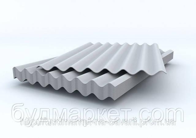 Шифер (8волн) серый 1,13м*1,75м *5,8м