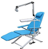 Портативное стоматологическое кресло Granum-109A с сумкой для транспортировки (светильником и лотком)
