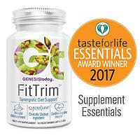 Genesis Today, FitTrim, синергическая пищевая добавка для снижения веса и поддержания здоровья сердечно-сосудистой системы, 60 капсул в растительной
