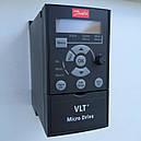 Частотный преобразователь Danfoss (Данфосс) VLT Micro Drive FC 51 0,37 кВт / 1фаз. (132F0002), фото 5