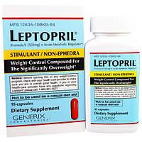 Generix Laboratories, Leptopril, контроль веса, 95 капсул