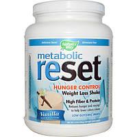 Natures Way, Metabolic Reset, микс для потери веса, ванильный вкус, 1,4 фунта (630 г)