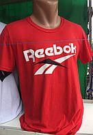 Футболка мужская спортивная с надписью Reebok
