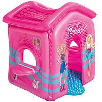 Детский игровой надувной домик Bestway Barbie