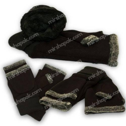 Варешки - перчатки на меху, M01