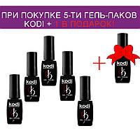 Набор гель-лаков KODI 5+1