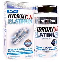 Hydroxycut, Hydroxycut платинум, пищевая добавка для снижения веса, 60 быстродействующих капсул