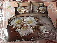 Комплект постельного белья из сатина евроразмер