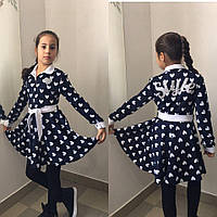 """Платье детское """"Style""""  (цвета в асcортименте) 122-140см."""
