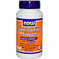 Now Foods, Препарат для регуляции уровня кортизола усиленного действия, 90вегетарианских капсул