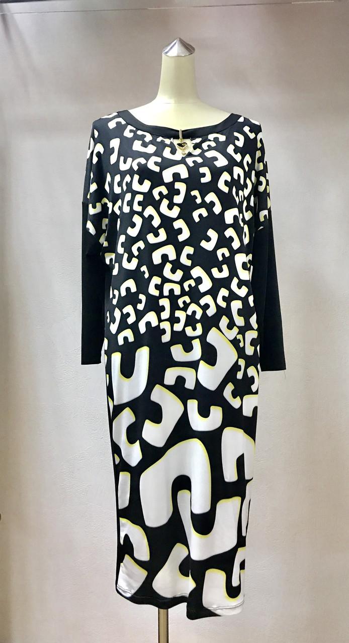 Платье Ayla Bayer размер+ рукав