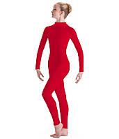 Комбинезон трикотажный для танцев и гимнастики., фото 1