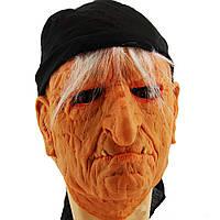 Карнавальная маска резиновая Баба Яга