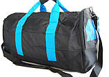 Спортивная сумка Nike. Дорожная сумка. Сумки Найк. Сумка в спортзал. Сумка с отделом для обуви., фото 7