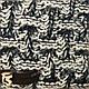 ОПТ Комплект шапка и шарф (хомут) для девочки, р. 50-54, подкладка флис, 7022 (5шт/набор), фото 7