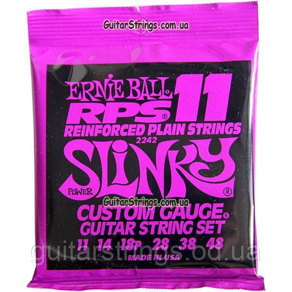 Струны Ernie Ball 2242 RPS Power Slinky 11-48