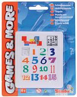 Пятнашки - цифры, 10 × 12 см, Games & more