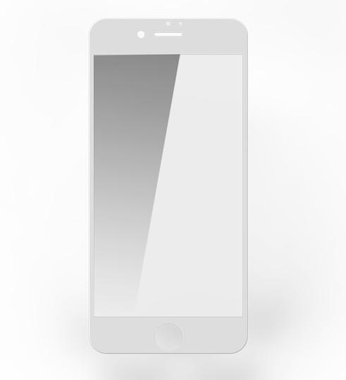 Защитное Стекло Remax Perfect Tempered Glass for iPhone 7 White