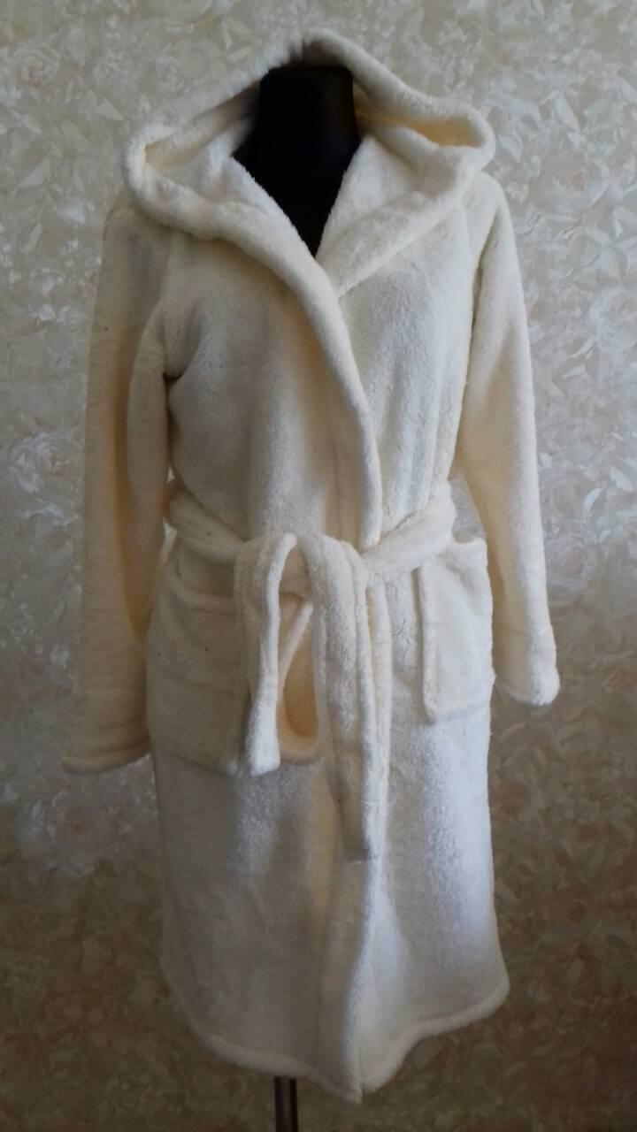 Махровый женский халат Код к1