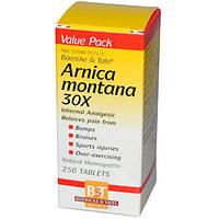 Boericke & Tafel, Арника горная, 30X, 250 таблеток