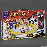 """Детский гараж ZY 644  """"Robot Trains"""", 2 машины"""