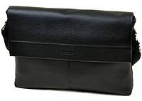 Мужская кожаная сумка портфель Dr. Bond на ремне