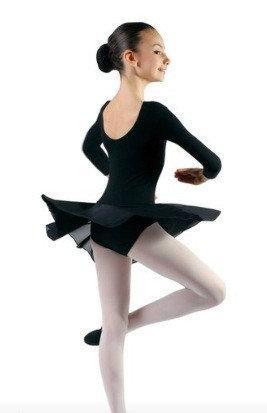 Купальник с юбкой трикотаж, бифлекс для танцев и гимнастики.