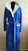 Махровый женский халат Код к3
