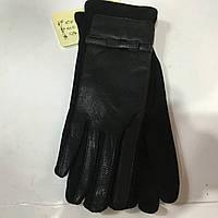 Перчатки женские кожаные+Флис женские перчатки оптом