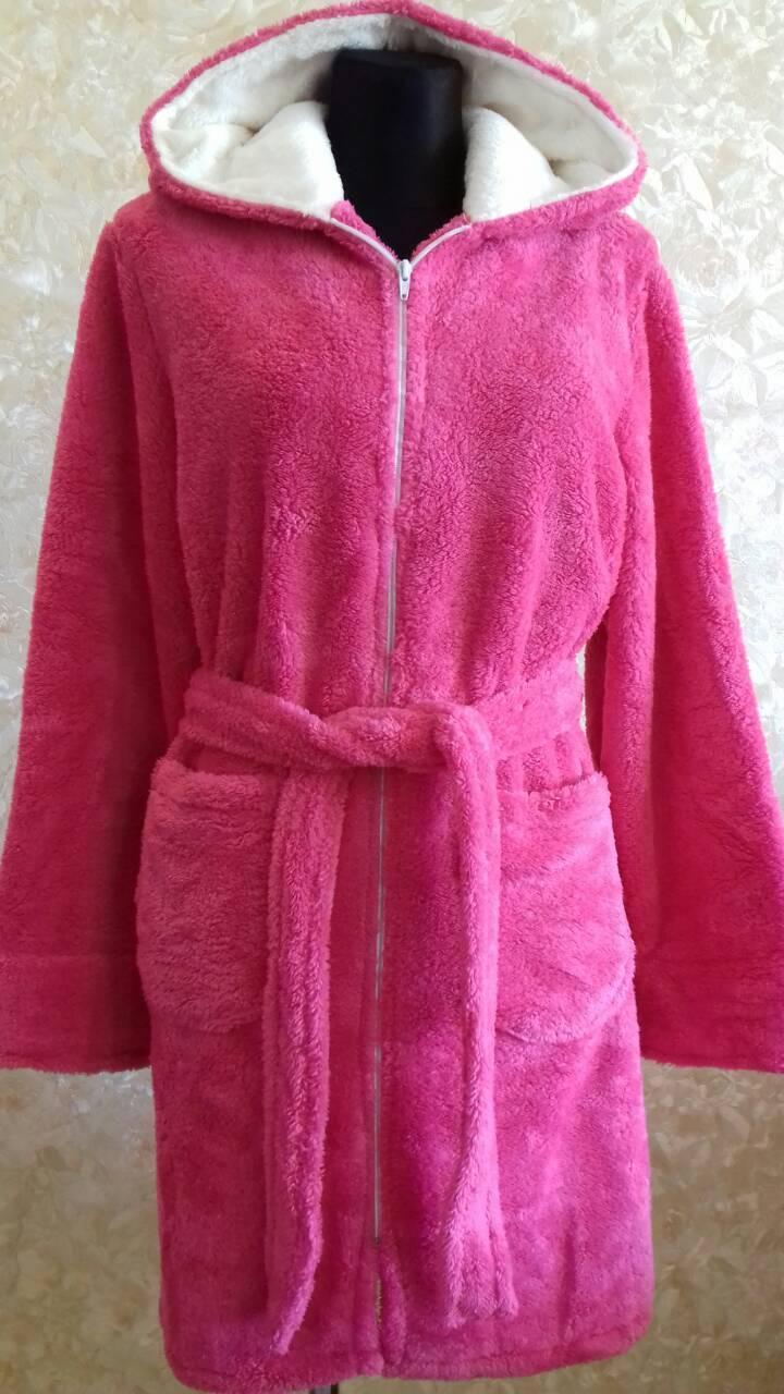 Махровый женский халат Код к5