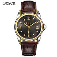 BOSCK Высокое Качество Механика Мужские Часы Лучший Бренд Класса Люкс Бизнес Водонепроницаемые