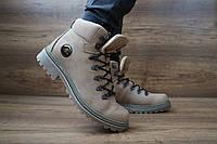 Мужские зимние ботинки Shark Оливка 10440
