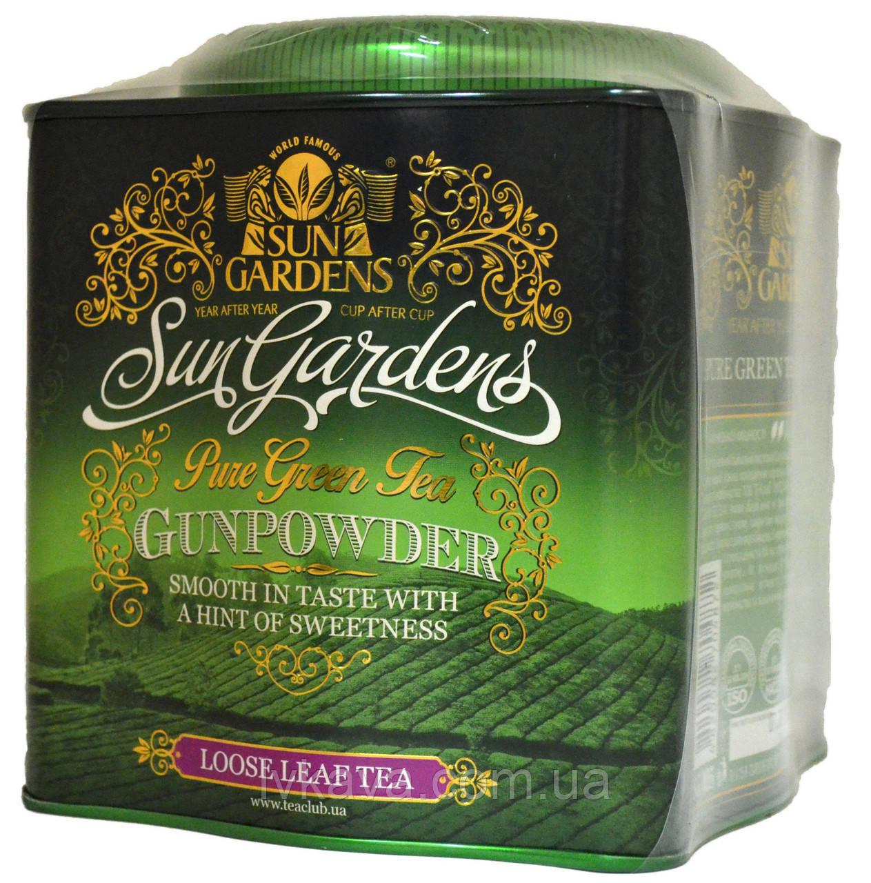 Чай зеленый Gunpowder Sun Gardens ,ж\б, 250 гр