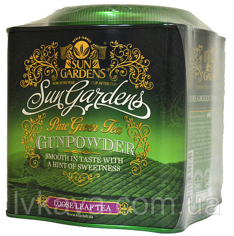 Чай зеленый Gunpowder Sun Gardens ,ж\б, 250 гр, фото 2